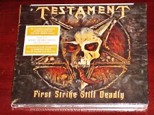 Testament: First Strike Still Deadly CD 2018 Nuclear Blast NB USA Digipak NEW