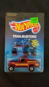 1986 Hot Wheels  - Trailbusters -  #5146 - Jeep Scrambler - NIP - Unpunched