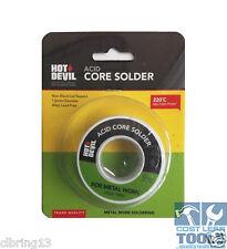 Hot Devil Acid Core Solder 1.6mm - HDACS