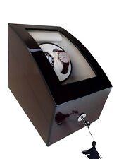 Automatic Watch Winder Cherry Wood Watch Storage Jewelry Box Safe Top Quality