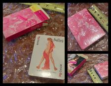 Vtg 1970s PIN UP NUDES Playing Cards Featuring NAKED US Ladies * LAST ONE!  *P