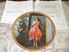 Norman Rockwell Standing In The Doorway 7th Issue Rediscovered Women Mint COA