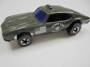 Hot Wheels Redline Olds 442 Army Staff Car PRO RESTORATION