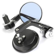 """Universale Coppia 7/8"""" Retrovisori Specchietto Specchio Manubrio Moto Alluminio"""