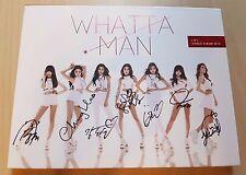 I.O.I ioi signed/autographed Whatta Man album no photo card mwave rare