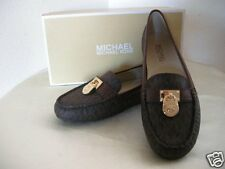 Authentic Michael Kors Hamilton Women's Driver Shoes Brown Size 7.5