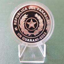 Paraguay Silbermünze 2003 - FIFA 2006 - PP