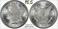 1884-CC Morgan PCGS MS66+ *CAC-Verified* Silver Dollar, Premium Gem+!