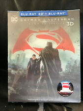 Batman v Superman Novamedia Blu ray Steelbook Lenticular Slip Mint NC 010L Mint