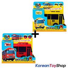 The Little Bus TAYO Diecast Plastic Toy Car - Gani & Lani/Rani Buses Set (2 pcs)