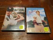 The Natural: Director's Cut & other DVD 2 DVDs Robert Redford Lot P