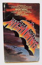 Nightwing by Martin Cruz Smith Paperback 1978 - Supernatural Thriller Book