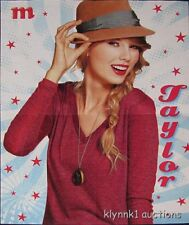 Taylor Swift - 2 POSTERS Centerfolds Lot 2280A Big Time Rush on back