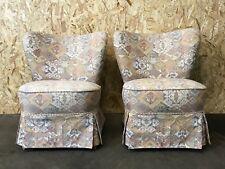 2x 60er 50er Jahre Sessel Cocktailsessel Easy Chair Mid Century Design 60s 50s