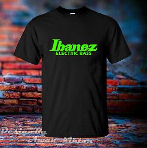 Clothing Ibanez Guitars Logo Unisex Tshirt Short Sleeve