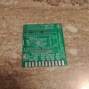Commodore 64/128 WIFI modem. Bare PCB only.