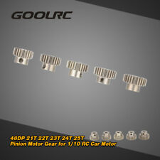 GoolRC 48DP 21T-25T Pinion Motor Gear Combo for 1/10 RC Car Brushless Motor D7Z2