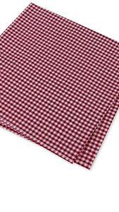 Tommy Hilfiger Men's Pocket Square Silk Blend Red