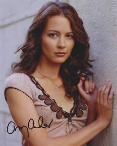 BUFFY ANGEL AMY ACKER # 3 and star of THE GIFTED hand signed
