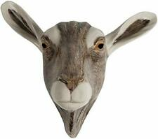 More details for goat wall vase by quail pottery wall hanging pot flower display gift boxed