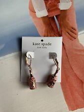 BN Kate Spade New York Make Magic Happen Champagne Drop Earrings With Dust Bag