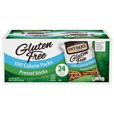 SYNYDER'S OF HANOVER GLUTEN FREE STICKS 100 CALORIE PACK - 24CT