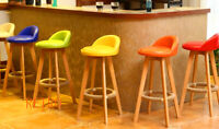 Bar stool Retro Eiffel style Kitchen-Pub-Barstool     -