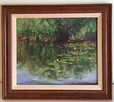 Framed Original Painting by Kathleen Kalinowski