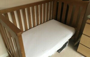 Boori cotbed with mattress & underdraw in teek used