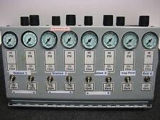 Lot of 8 HUMPHREY TAC 2 VALVES + 8x Numatics R12R-01G 0-160 PSI Regulators +++++