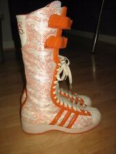 Adidas Missy Elliot Remix 3 Stripe Classic women's Knee High boots US 6 UK 4.5