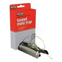 2x Tunnel Scissor Mole Traps Claw Excellent Professional Mole Control Trap