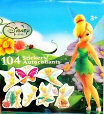 100+ Disney Fairies TinkerBell (104) Mini Stickers 8 Sheets Party Favors Crafts