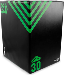 Yes4All Foam Plyo Box/Plyometric Box Platform For Crossfit, Jump Training  Cond