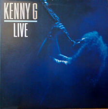 Kenny G ‎– Live (1989) Arista AL-8613 2 LP vinyl NEW sealed rare