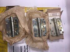 Anderson Brass Door Hinges- silver