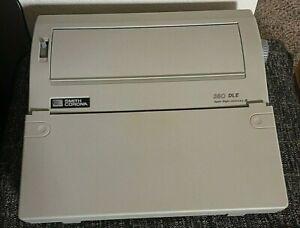 Vintage Smith Corona Electronic Typewriter 350DLE Model Works EUC (NEAR MINT)