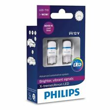Philips 127998000KX2 X-tremeVision LED Cool Blue W5W T10 501 8000K Set of 2