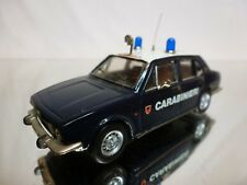 TRON KIT built ALFA ROMEO ALFETTA - CARABINIERI - BLUE 1:43 - GOOD CONDITION