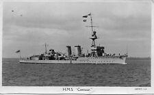 HMS Centaur -  C Class Light Cruiser, Real Photographic Postcard