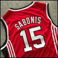Camiseta baloncesto retro Arvydas Sabonis CCCP Team Basketball Jersey