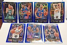 2016-17 Panini Select BLUE Prizm /299 Lot 7 w/Derrick Rose,Kemba Walker,DeRozan