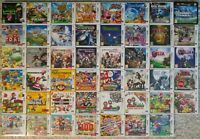 CHEAP Nintendo 3DS DS Video Games GREAT CONDITION Assorted *CART ONLY* (PAL)