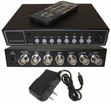 4 Port 4 Channel Color Quad Processor High Quality Splitter Switch With 1A