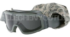 OAKLEY® ESS Profile NVG Green GOGGLES ATV MOTOCROSS MOTORCYCLE Dark Lens VGC