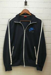 """Nike Air Vintage Men's Track Suit Top Jacket Navy Blue Size M Chest 40-42"""""""