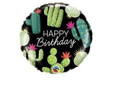 "Happy Birthday Cactus 18"" Balloon Birthday Party Decorations"
