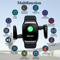 Smart Sport Watch Heart Rate Blood Pressure Monitor + Wireless Bluetooth Headset