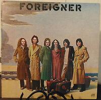 "Foreigner – ""Foreigner"" - Original 1977 Classic Rock Vinyl LP - VG++/VG+"