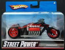 Hot Wheels STREET POWER 1/18 Diecast Motorcycle/Bike: FERENZO (#R1083; 2009).